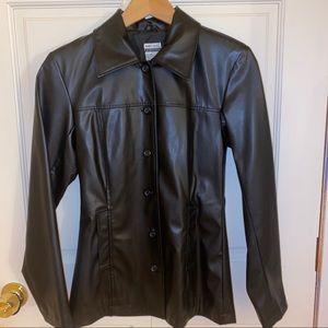Leather Trench Coat / Jacket